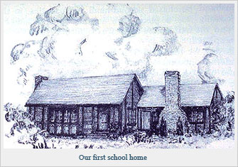 Our first school home